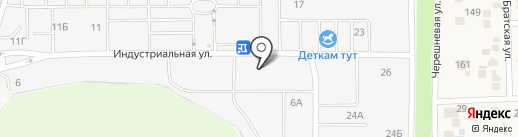 Донской крепеж на карте Янтарного