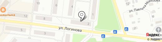 Апрель на карте Северодвинска