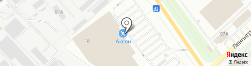Akson.ru на карте Вологды