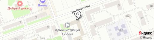 Банкомат, Северный банк Сбербанка России на карте Северодвинска