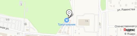 Гюттер на карте Аксая