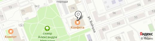 Правозащитник на карте Северодвинска