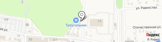 VeloMarket+ на карте Янтарного