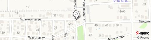 Изумрудный на карте Камышевахи