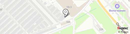 Автосервис на карте Вологды