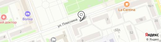 АКБ Российский капитал, ПАО на карте Северодвинска