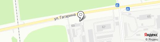 Ярнефтехимстрой-3 на карте Ярославля
