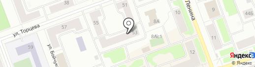 Единая дежурно-диспетчерская служба г. Северодвинска, МКУ на карте Северодвинска