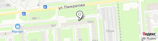 Автополка на карте Вологды