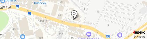Subway на карте Янтарного