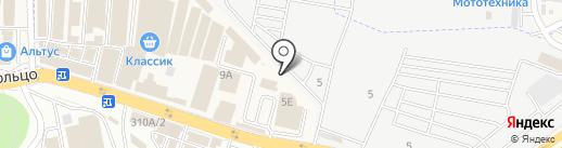 Сеть магазинов спецодежды на карте Аксая