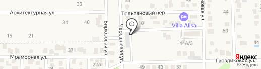 Кровля и Фасады на карте Янтарного