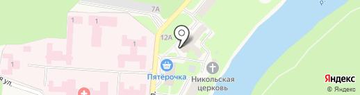 Врачебная амбулатория на карте Кувшиново