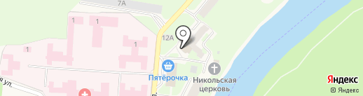 Банкомат, Банк ВТБ 24, ПАО на карте Кувшиново