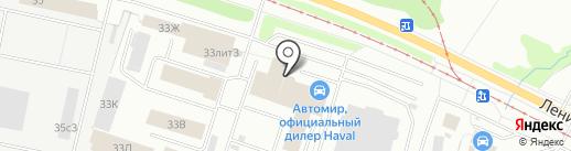 МК ТехноПрофи на карте Ярославля