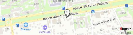 Бонус на карте Ростова-на-Дону