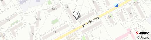 Цветочный магазин на карте Ярославля