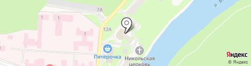 Банкомат, Сбербанк России на карте Кувшиново