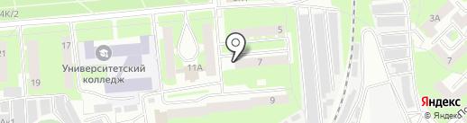 РУБИН на карте Вологды