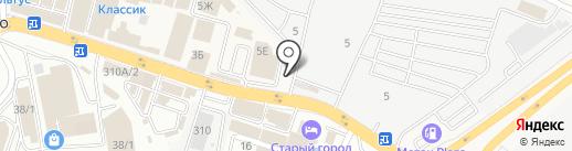 Дон-Скутер на карте Аксая