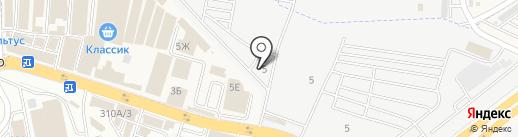 Сеть магазинов автозапчастей на карте Аксая