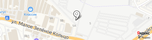 Салон-магазин материалов для внутреннего и внешнего тюнинга на карте Аксая