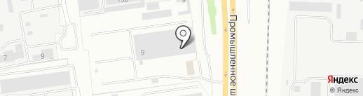 Малинка на карте Ярославля