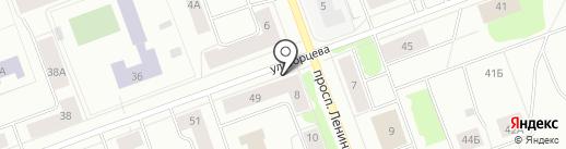 Мастерская по ремонту часов на карте Северодвинска