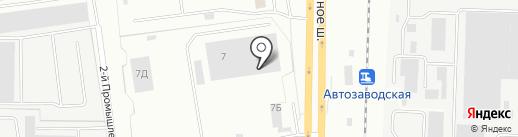 АвтоЭксперт на карте Ярославля