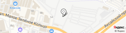 АвтоДом на карте Аксая