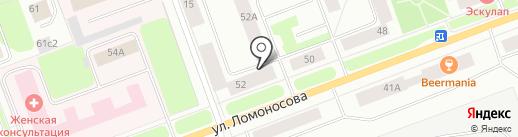 АЛЛЕРГОДОМ на карте Северодвинска
