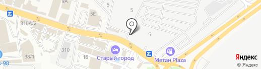 Дом Кровли на карте Янтарного