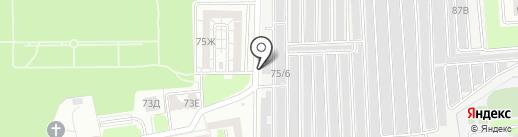 Гараж на карте Ростова-на-Дону