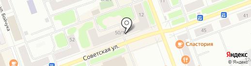 Банк Югра, ПАО на карте Северодвинска