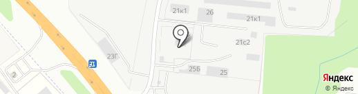 Автостекло на карте Рязани