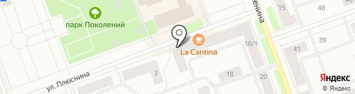 Ювелирная мастерская на карте Северодвинска