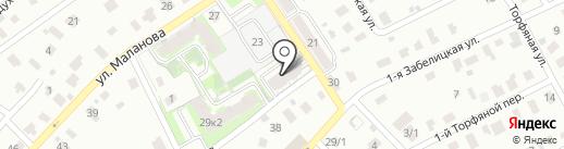 Пересвет на карте Ярославля