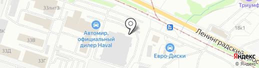 AVTOстиль на карте Ярославля