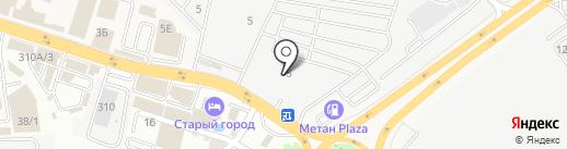 БМВ 161 на карте Аксая