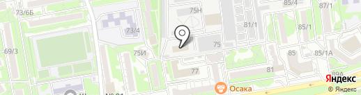 Энергодеталь на карте Ростова-на-Дону