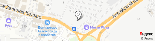 DRIVING PARTS на карте Аксая