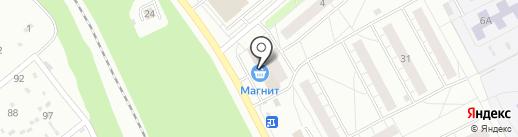 Салон мебели на карте Ярославля