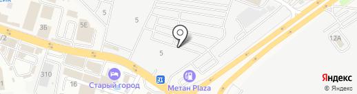 Avtomarket161 на карте Янтарного