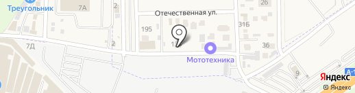 Фокус на карте Янтарного