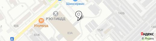 Межрайонное отделение государственного технического надзора и регистрации автотранспортных средств на карте Вологды