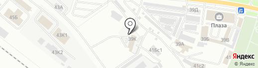 Шиномонтажная мастерская на Углической на карте Ярославля