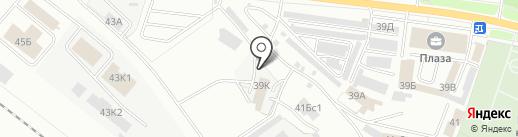 Петровская Домостроительная Компания на карте Ярославля