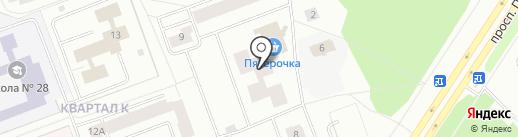 Почтовое отделение связи №5 на карте Северодвинска
