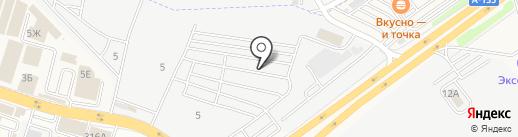 Магазин запчастей для корейских автомобилей на карте Янтарного