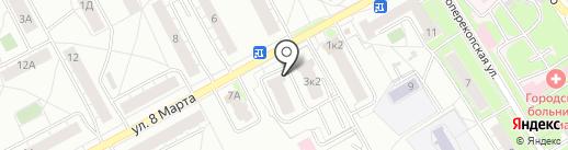 Заволжская жемчужина на карте Ярославля